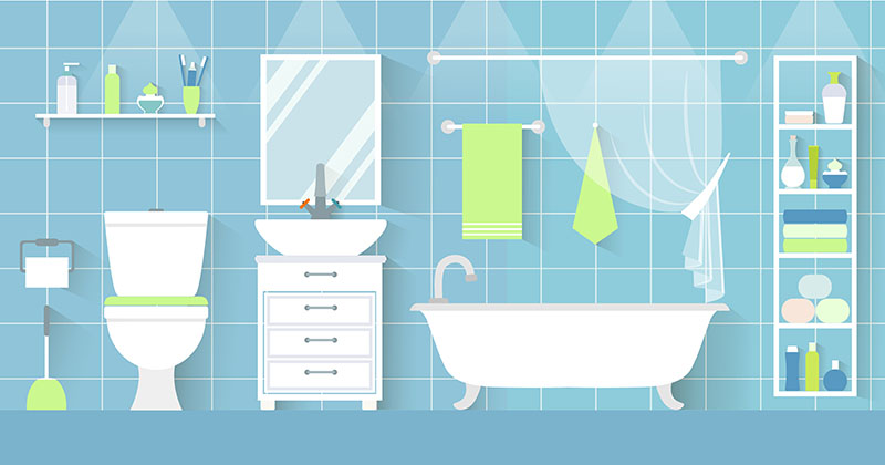 Spring Cleaning Bathrooms