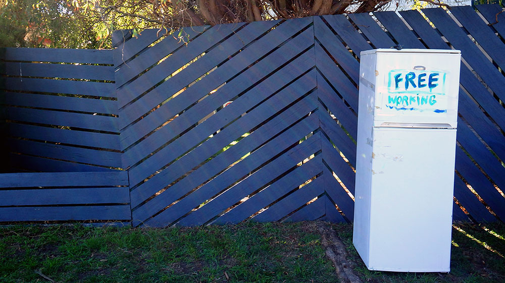 Donate Old Fridge in Good Condition
