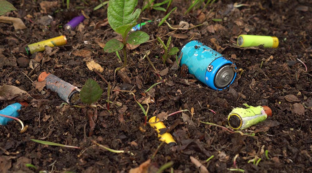 Electronic Products Negatively Impacts Soil