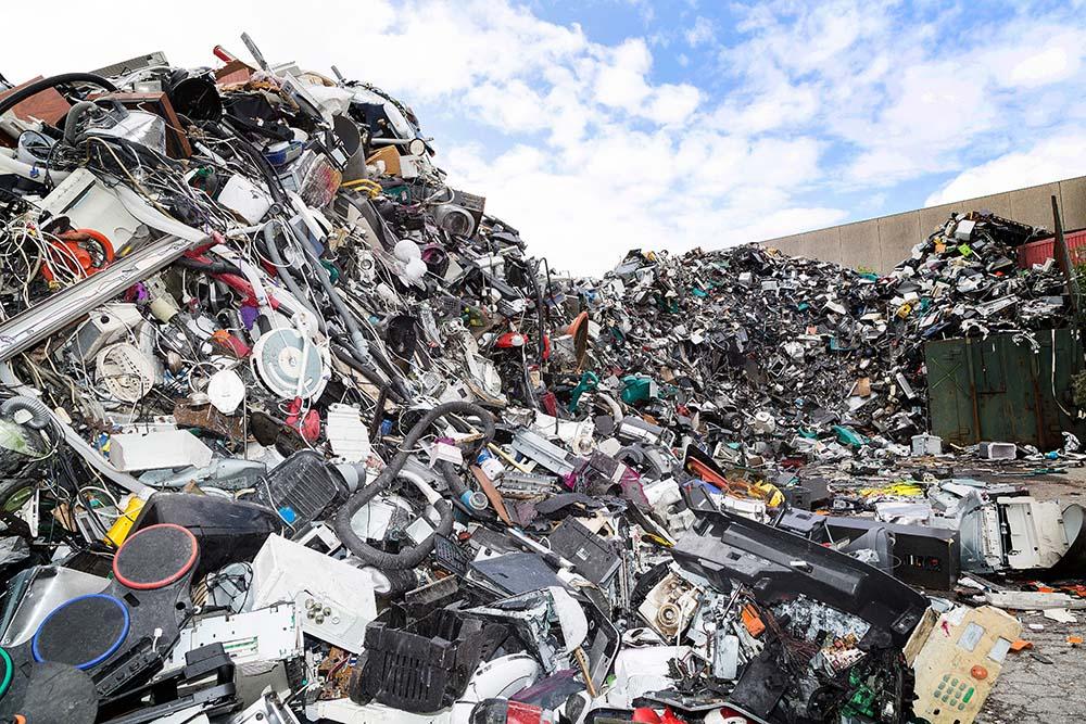 Electronics at a Landfill