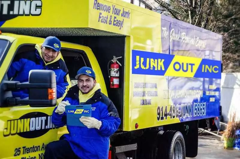 Dispose of Concrete with Junk Removal Company
